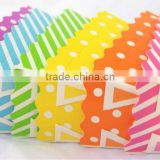MiNi BaKiNG BoXes-- RaiNBoW MiX--loaf pans--baking cups--cookies--candy--nuts Disposable Rectangular Paper Loaf Baking Pans