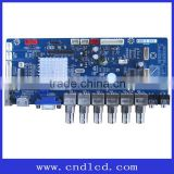 Industrial Factory Control LCD Security Monitor Display AV CCTV Board
