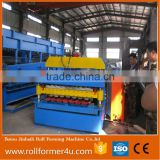 Aluminum High performance color steel metal Roof Sheet Double Layer Cold Roll Forming Machine