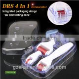 Microneedle roller therapy skin care product stretch marks and cellulite reducing tool 4 Iin 1 derma mesoroller