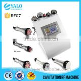 5-1 Cavitation Tripolar Multipolar radio frequency facial machine