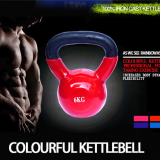 Customized Logo Printing Vinyl Competition wholesale fitness center GYM equipment crossfit competition kettlebell
