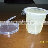 Canned Aloe Vera in plastic cup