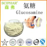 Professional manufacture produce the bset ingrendient for healthy joints and cartilage--glucosamine powder