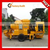 Low price Portable concrete pump mixer machine for sale
