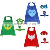 Popular Boys hero Blue Cat owlette cape mask wristband bracelet