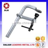 OEM ductile cast iron casting steel thread rod slide bar woodworking steel-structure clamping apparatus F Clamps