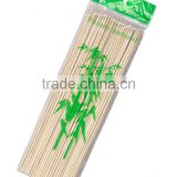 disposable bamboo BBQ skewers set