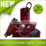 High quality Dimmable 600w electronic ballast/600W Electrical Digital Dimmable Ballast For Grow Light