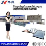 Size Customized intelligent control CE&CCC double row fan customized flat tempered glass stove