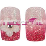Salon Nail Art Tip,designed nail tip.Artificial nail tip,French nail tip