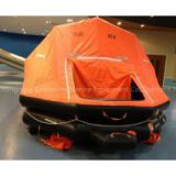 Marine used inflatable life raft 50 persons self-righting type SOLAS approved