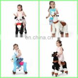 New arrival!!!HI CE ride on toys for adult and kids to have fun in mall,ride on pony with wheels