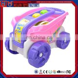 Customized colorful interesting summer beach for-wheels car toys for kids