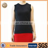 Women summer knitted wholesale wool vest