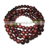 Rosewood Beads String (mala) made of fine quality handmade 10mm round rosewood beads