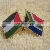 Palestine and South Africa Solidarity Freedom Enamel Flag Pin