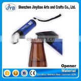 hot sale type custom logo flash light bottle opener led light beer bottle opener