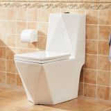 Chaozhou Competitve manufacturer china wc new style luxury price ceramics one piece siphonic toilet