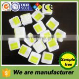 promotional clamshell packing with logo paper both sides square dia.2cm compressed magic mini coin tissue towels napkins