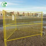 High security construction site Australia/Canada used outdoor galvanized temporary fence