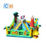 CH funny inflatable bouncer combo commercial Inflatable playground with slide