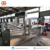 Frying Machine For Chips Continuous Frying Machine Potato Factory Supply Stainless Steel