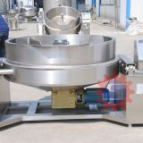 Jam jacketed kettle with mixer  Electric industrial wok supplier   Cooking Equipment China