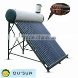 Thermosyphon copper pipe pre-heating solar water heater