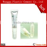 16mm Clear Transparent plastic custom lip balm tube,lip gloss packaging 20ml plastic tube