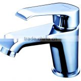 6804 Fashion High Quality Series Brass Cold and Hot Water Polished Chrome Bathroom Faucet with Single Lever