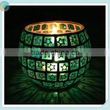 factory wholesale vintage and mosaic glass candle holders