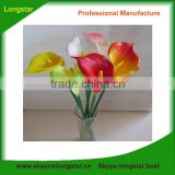 Real Touch Flowers PU Medium Calla Lily Flower for Decoration