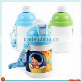 Wholesale Sublimation PP material blank Water bottle for kids 400ml