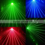 small head moving dj used stage blue projector laser lighting