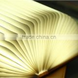 China Factory LED Book Lamp colorfull rechargeable book light 3W USB charge led fold book light