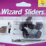 furniture protector nail-on glides felt