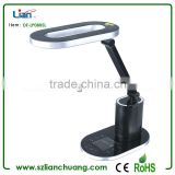 2013 newest unique design luxury LED table lamp with speaker and LCD display in touch control screen
