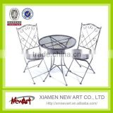 decorative garden table and chair China supplier wrought iron garden table and chairs                                                                         Quality Choice