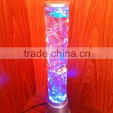 72CM Colour Changing LED Novelty Bubble Fish Water Tube Mood Light table Lamp