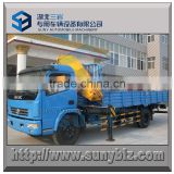 Dongfeng 4x2 Cargo Truck 120 hp Mounted Knuckle Boom Truck Crane 5 Ton, SQ5ZA2                                                                         Quality Choice