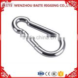 7mm Metal High Quality Spring Hook Snap Hook AISI304 AISI316