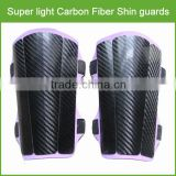 100% aerospace grade carbon fiber custom soccer shin guard / custom soccer shin guard with Foam Backing