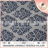 Baroque style polyester printed satin fabric wholesale