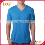 GuangZhou Manufacturer men v neck cheap fashion plain custom t shirts 1 euro wholesale                                                                                                         Supplier's Choice