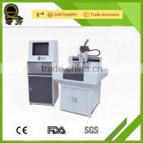 CE metal dog tag making machine price good QL-6060 desktop metal cnc router machine for aluminum/mobile watch phones
