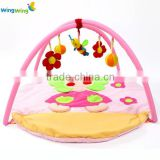 2016 alibaba Chinese fty good quality baby activity gym baby gym mat baby playmat