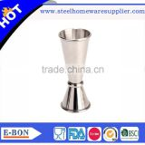High quality stainless steel double head jigger measuring cup bar tools