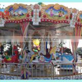 Hot amusement rides turning round horse playing merry go round for sale