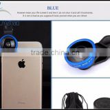 Wholesale Universal Clip-on 0.4x Super Wide Angle Phone Lens for IPhone Ipad Samsung Mobile Phone Camera Lens